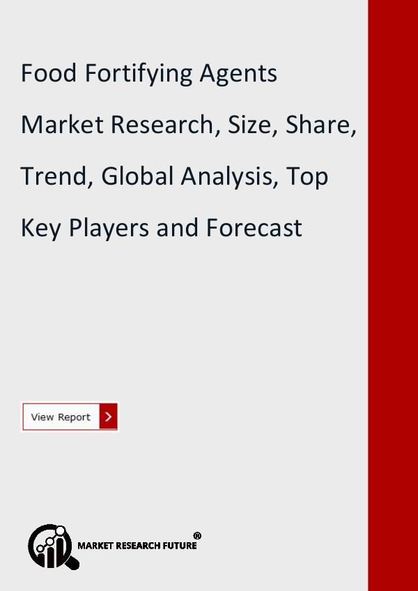 Food Fortifying Agents Market Research Report