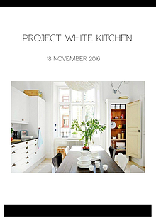 PROJECT WHITE KITCHEN