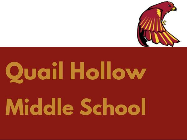 Quail Hollow Middle School Brochure Brochure 2016-2017
