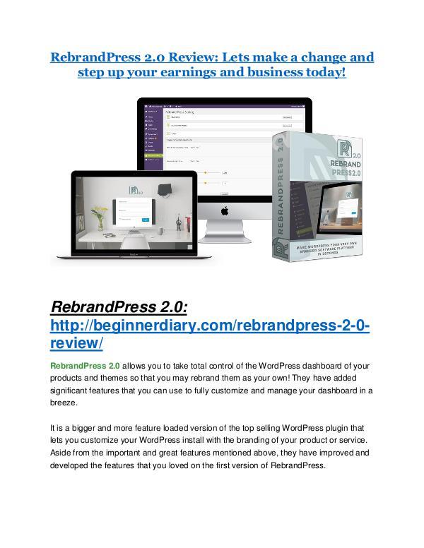 RebrandPress 2.0 review- RebrandPress 2.0 $27,300 bonus & discount