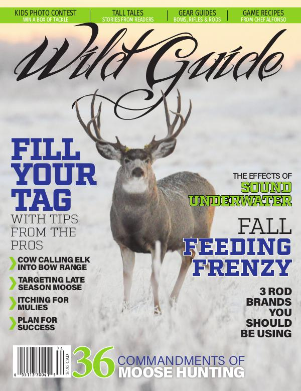 Wild Guide Magazine Fall 2017
