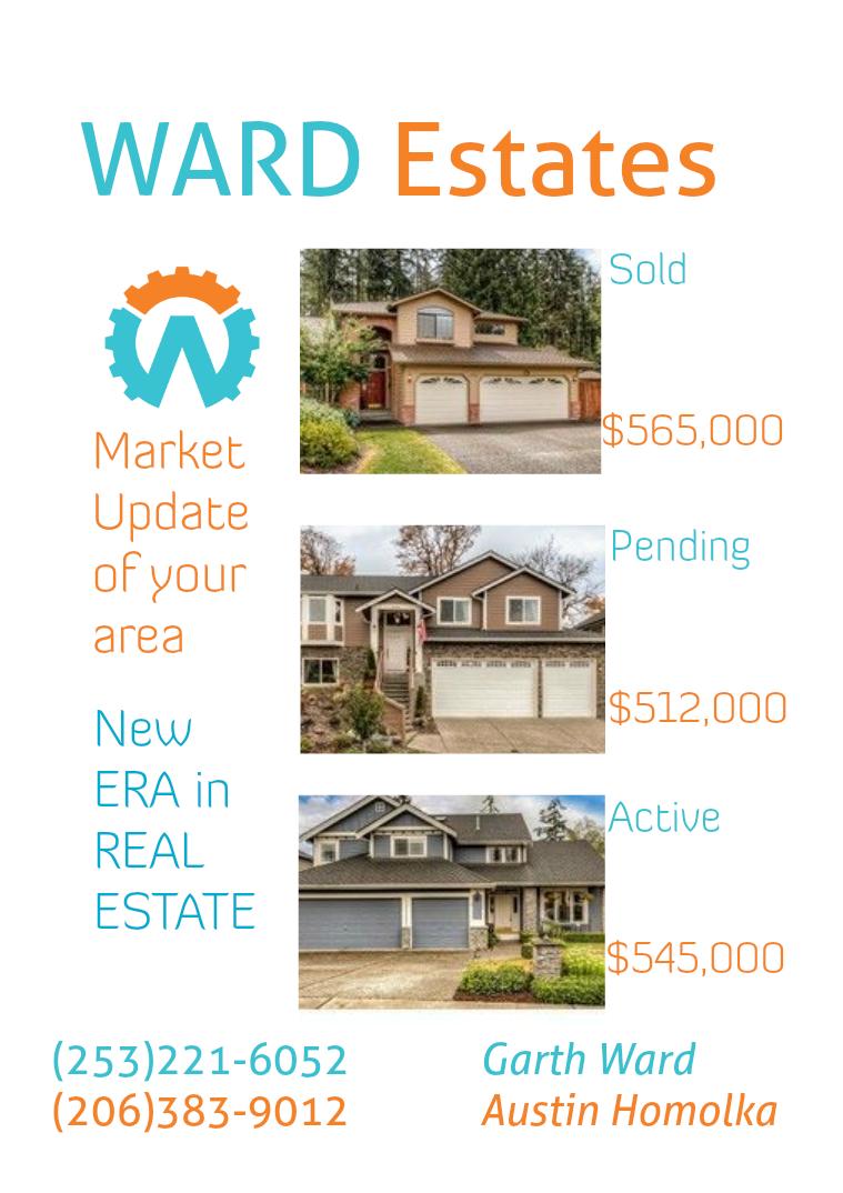 WARD Estates issue 1 Issue 1