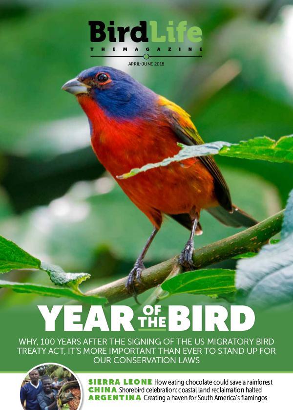 BirdLife: The Magazine Apr-Jun 2018