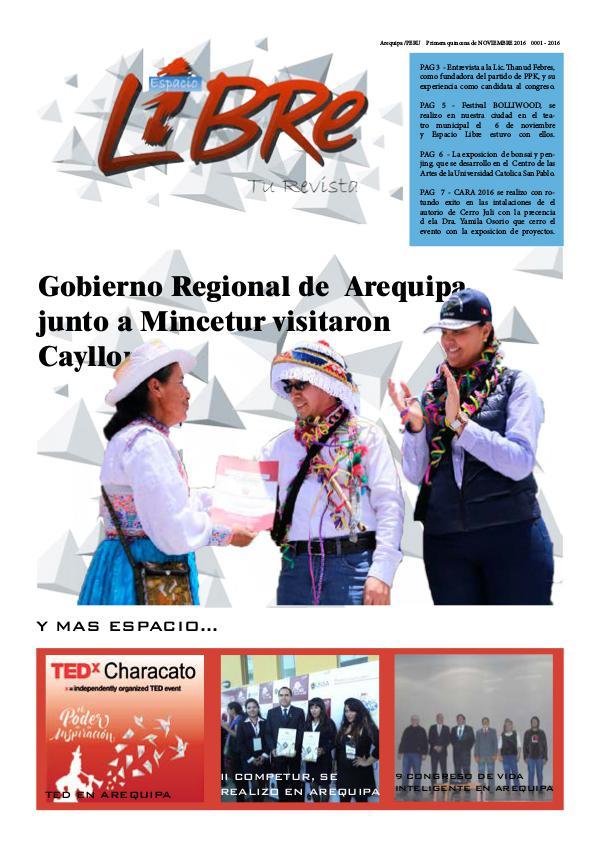 Espacio Libre Arequipa