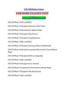 CJS 220 MART Possible Everything/cjs220mart.com