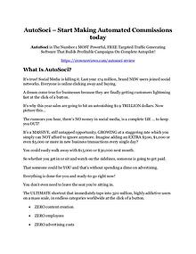 AutoSoci review & (GIANT) $24,700 bonus NOW