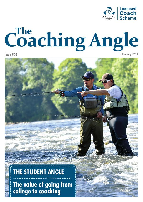 Angling Trust's The Coaching Angle Issue 6