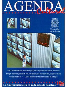 Agenda Cultural UdeA - Año 1999