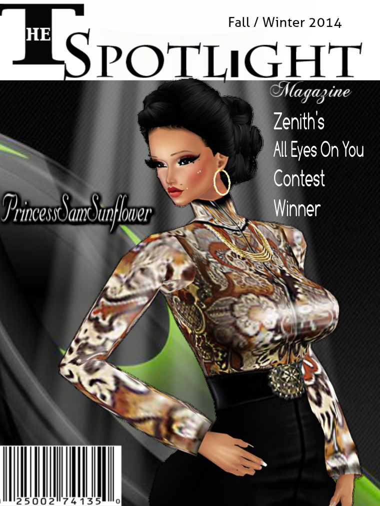 The Spotlight issue 1 The Spotlight Magazine Fall /Winter 2014