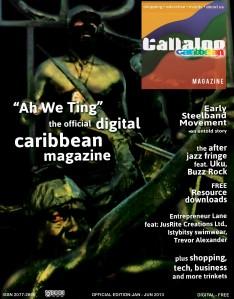 Callaloo Caribbean Magazine - Official issue JANJUN13 vol 1