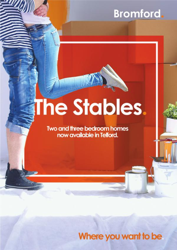 Where you want to be! Stables
