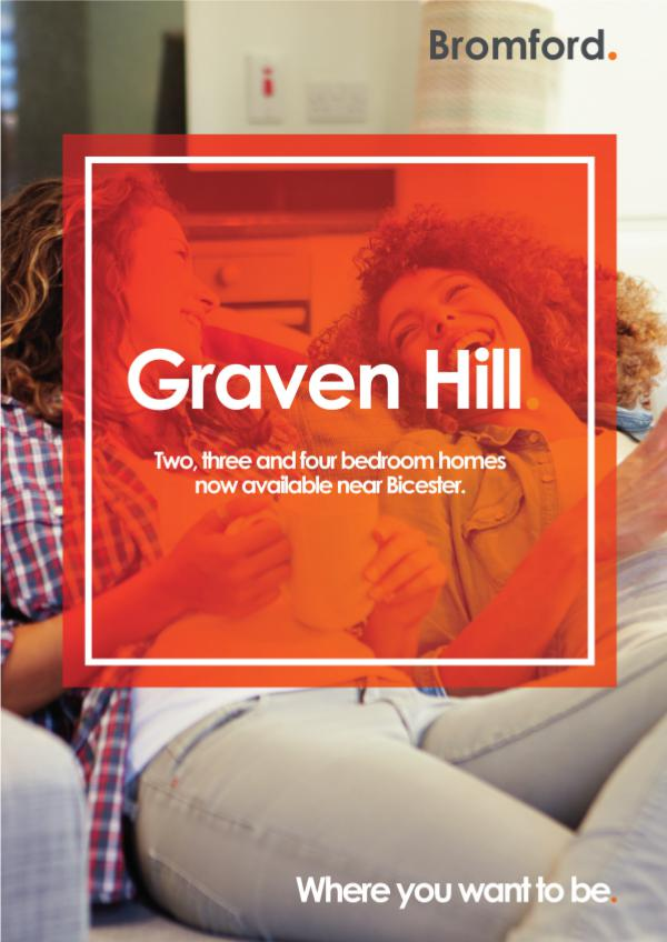 Where you want to be! Graven Hill
