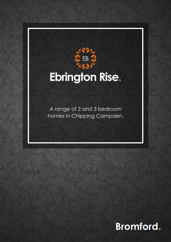Where you want to be! Ebrington Rise