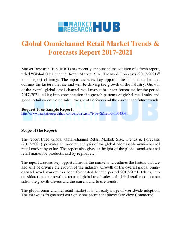 Market Research Report Global Omnichannel Retail Market Trends Report