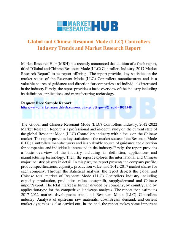 Market Research Report Chinese Resonant Mode  Industry Research Report