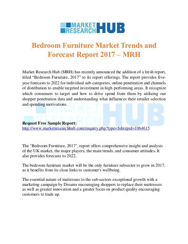 Market Research Report Bedroom Furniture Market Trends Report 2017