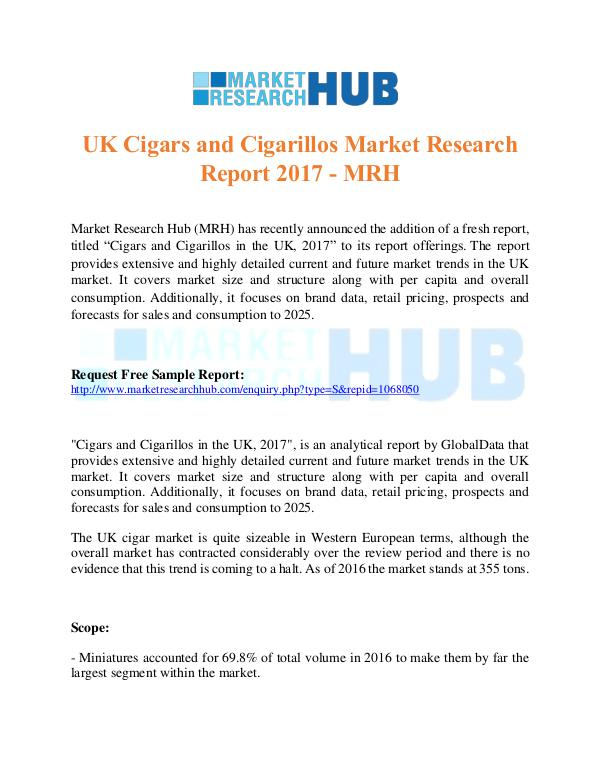 UK Cigars and Cigarillos Market Research Report