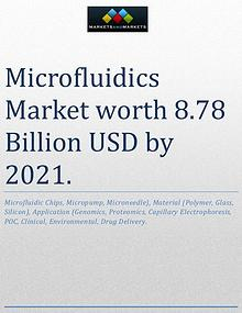 The global microfluidics market is projected to reach USD 8.78 Billio