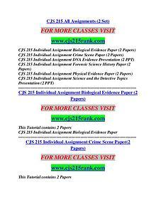 CJS 215 RANK Possible Everything/cjs215rank.com