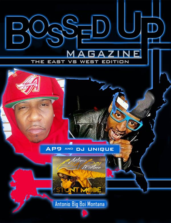 Bossed Up Magazine East VS West 2017 Bossed Up Mag East Vs Mag