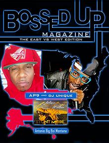 Bossed Up Magazine East VS West 2017
