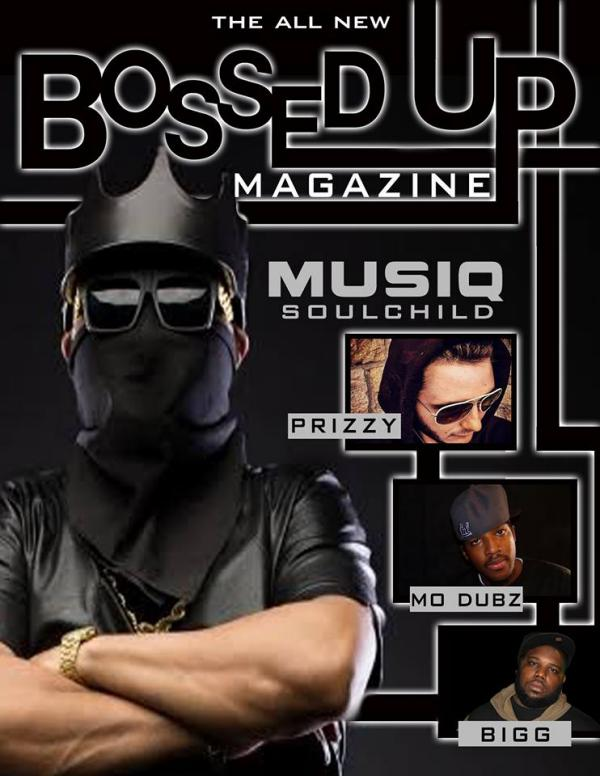 Bossed Up Magazine MusiqSoulChild Bossed Up Magazine (Musiq SoulChild)
