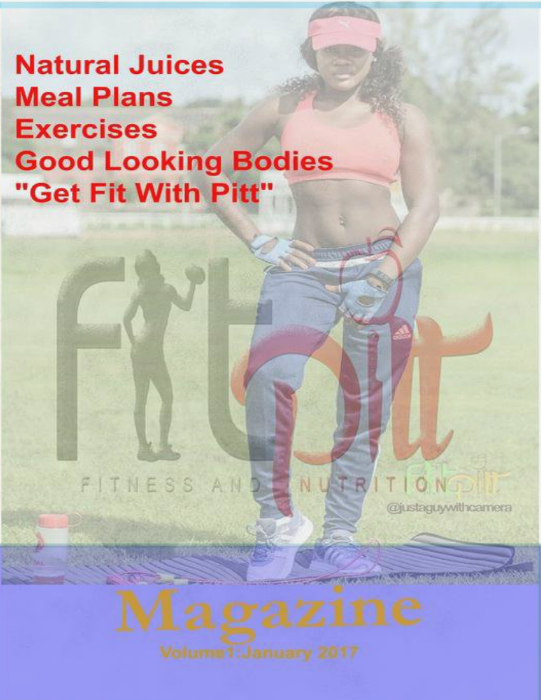 Fit Pitt Fitness and Nutrition Volume 1: January 2017