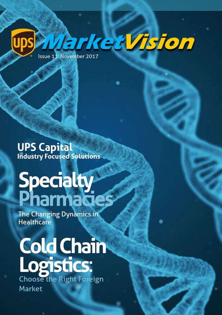 UPS Market Vision Healthcare