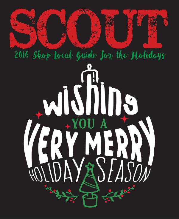 SCOUT's 2016 Shop Local for the Holidays Guide 2016