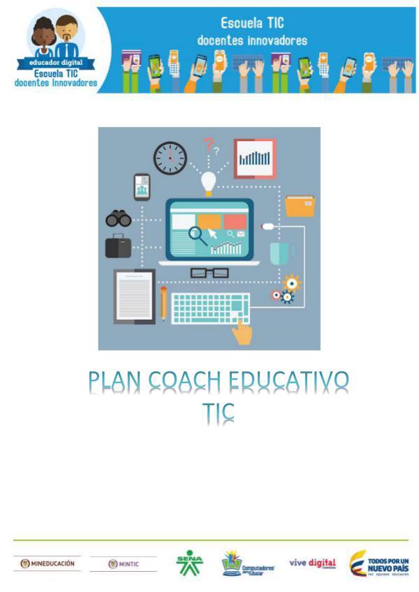 PLAN COACH EDUCATIVO TIC 1