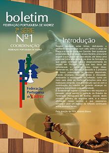 Boletim Federação Portuguesa de Xadrez