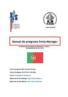 Manual de Swiss Manager