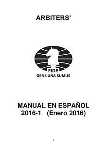 Manual del Arbitro
