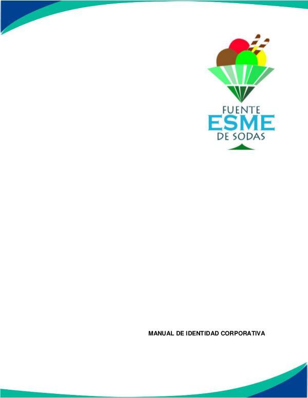 Manual de imagen corporativa Manual de imagen corporativa