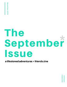 The September* Issue