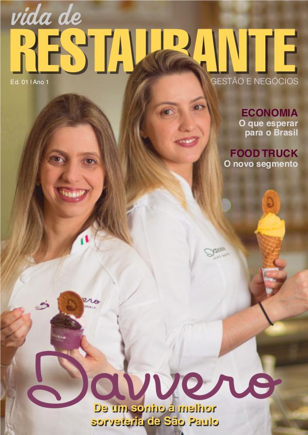 Vida de Restaurante Gestão e Negócios - 1ª Edição
