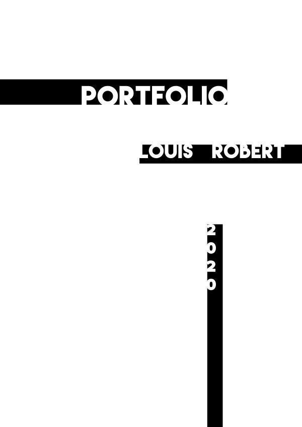 Portfolio (FR version) - Robert Louis
