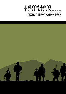 41 Commando, Recruit Information Pack