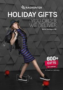 Raghunter Holiday Gifts Guide - For Women