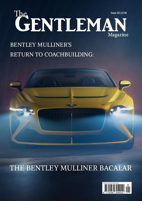 The Gentleman Magazine Issue 20 | April 2020