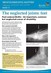 Musculoskeletal Matters