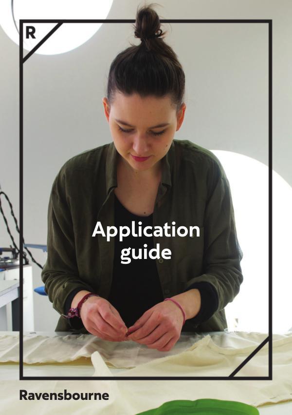 Ravensbourne Tier 4 Application Guide 1
