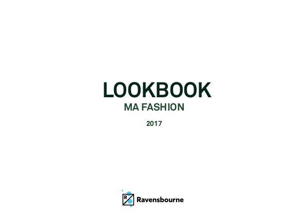 MA Fashion Lookbook LookBook_MAFASHION_2017