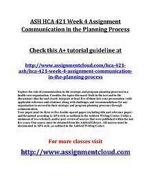 ASH HCA 421 Entire Class