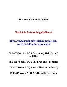 ash ece 405 entire course