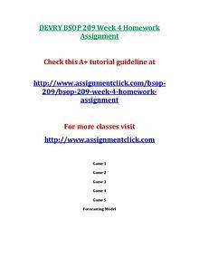 DEVRY BSOP 209 Entire CourseDEVRY BSOP 209 Entire Course