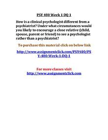 uop psy 480 entire course