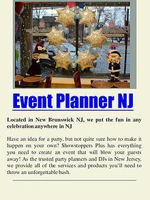 event planner nj