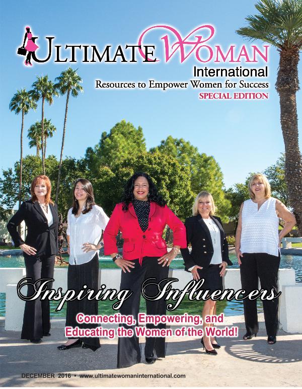 Ultimate Woman International UWI Special Edition Dec 2016