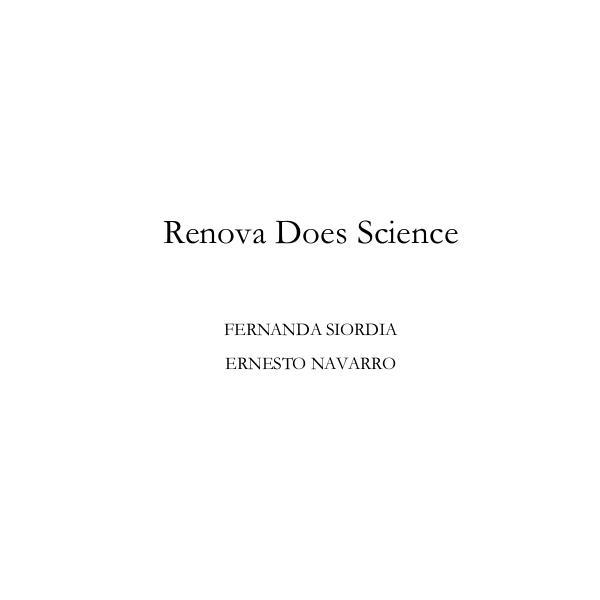 Renova Does  Science 1